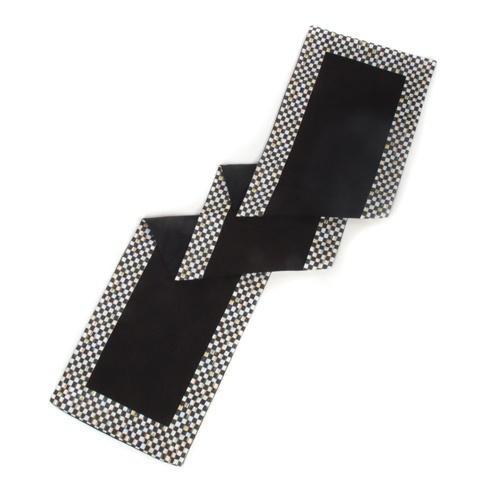 $215.00 Table Runner - Black