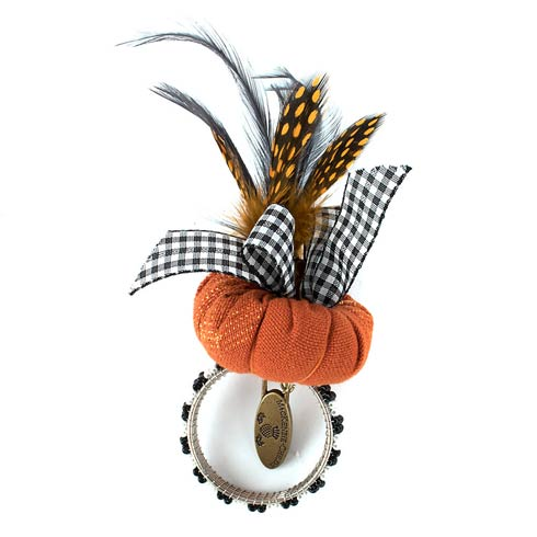$12.00 Pumpkin Carnivale Napkin Ring
