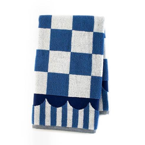 $22.00 Royal Check Hand Towel