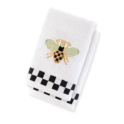 $38.00 Queen Bee Fingertip Towels - Set Of 2