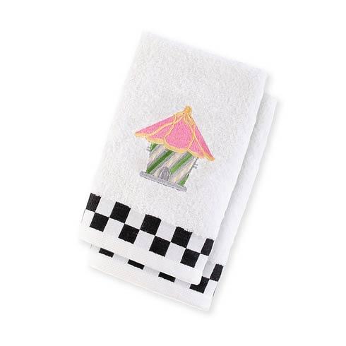 $38.00 Birdhouse Fingertip Towels - Set Of 2