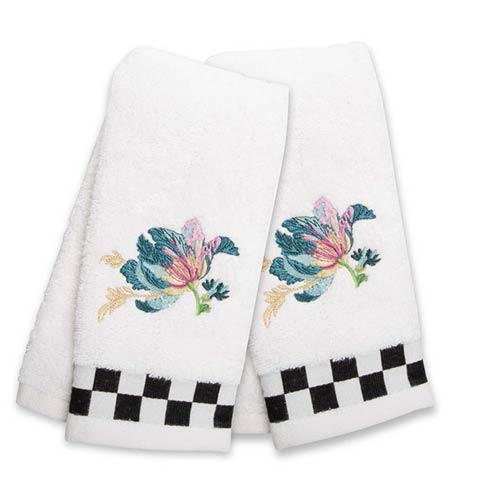 $42.00 Parrot Tulip Fingertip Towels - Set of 2