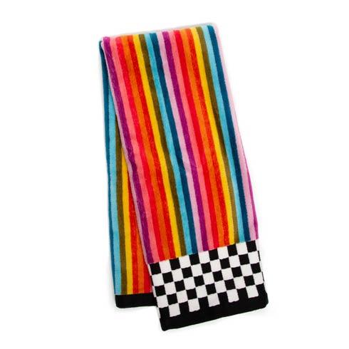 $25.00 Calypso Stripe Hand Towel