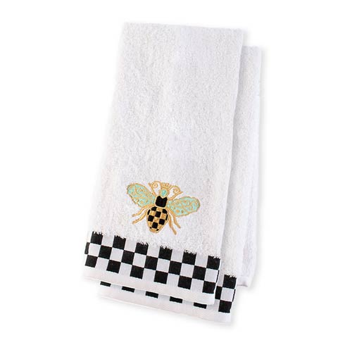 MacKenzie-Childs  Bath Queen Bee Hand Towels - Set Of 2 $68.00