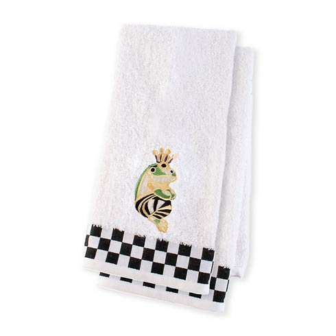 $68.00 Frog Hand Towels - Set Of 2