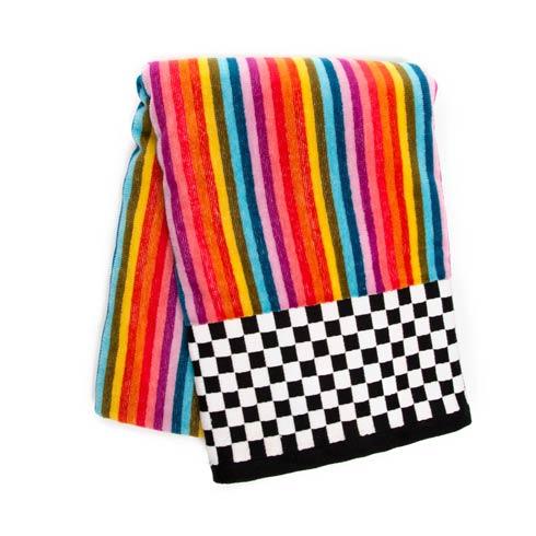 $45.00 Calypso Stripe Bath Towel