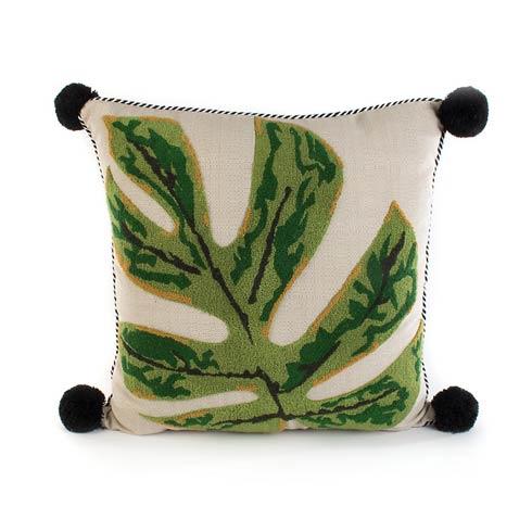 $150.00 Zanzibar Leaf Outdoor Accent Pillow