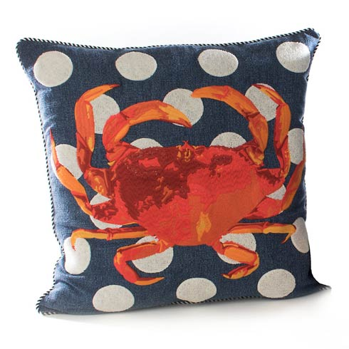 $148.00 Crab Outdoor Accent Pillow