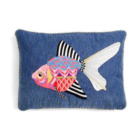 $155.00 Fantasia Fish Outdoor Accent Pillow - Fuchsia