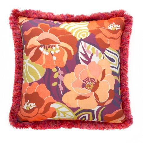 $198.00 Breezy Poppy Outdoor Accent Pillow
