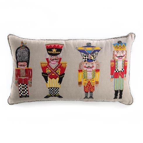 $175.00 Nutcracker Brigade Lumbar Pillow