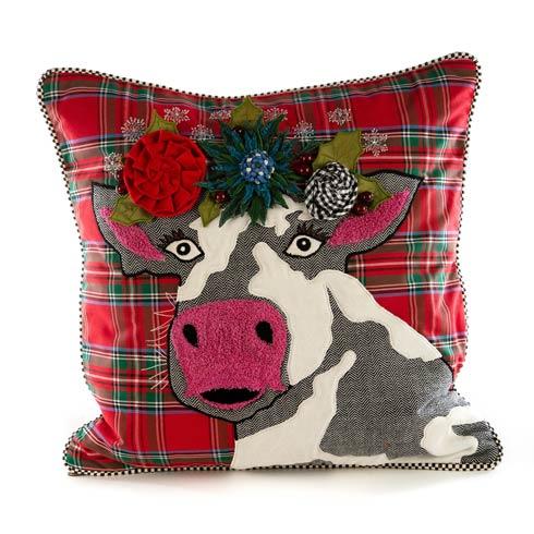 $150.00 Frida On Holiday Pillow