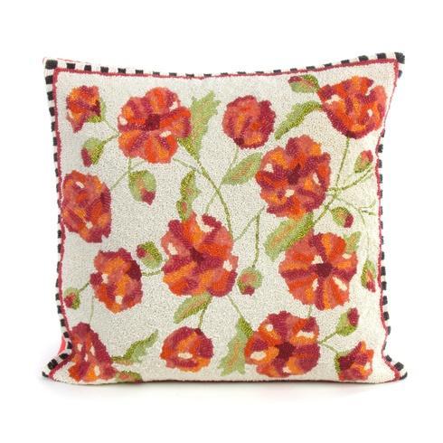 MacKenzie-Childs  Decor Trailing Flowers Pillow $150.00