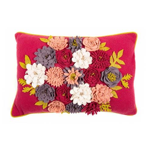 $110.00 Field of Flowers Lumbar Pillow