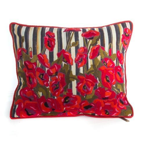 MacKenzie-Childs  Decor Poppy Garden Lumbar Pillow - Small $135.00