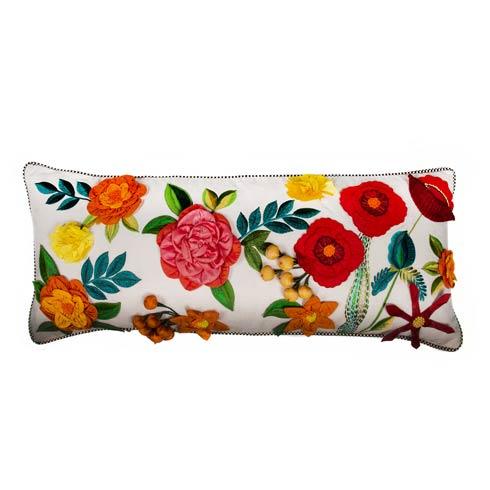 $235.00 Kira\'s Garden Lumbar Pillow