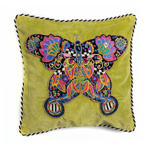 $82.00 Fantasia Butterfly Pillow