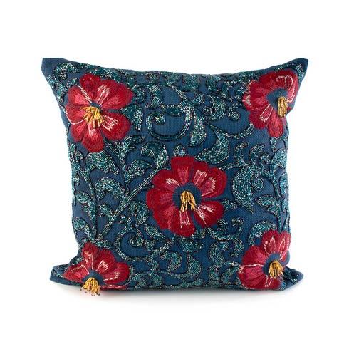 $85.00 Bluetopia Shimmer Pillow