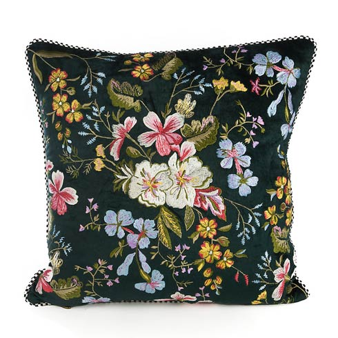 $125.00 Veronica\'s Garden Pillow