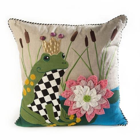 $150.00 Frog O. Nard Pillow