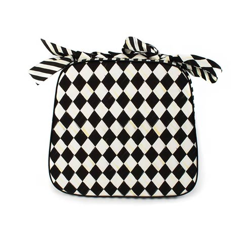 $110.00 Courtly Harlequin Chair Cushion
