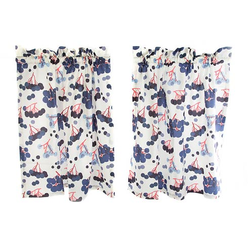 $150.00 Cafe Curtains - Set Of 2
