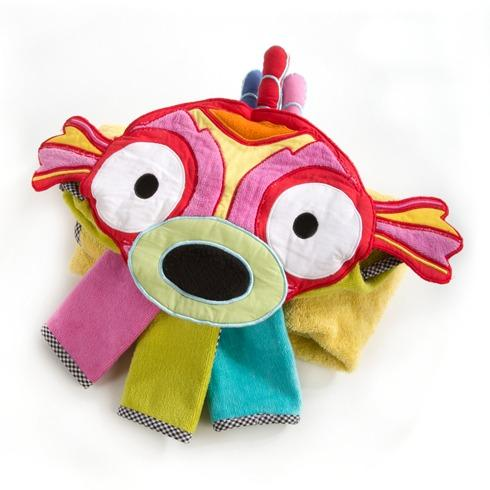 $48.00 Hooded Towel Set - Happy Fish
