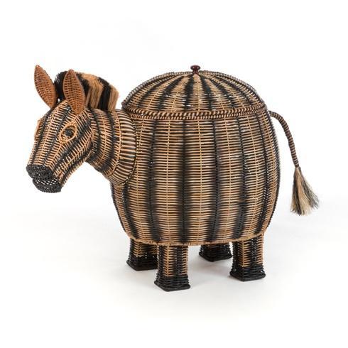 Zebra Hamper