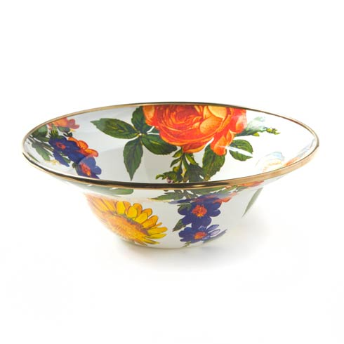 MacKenzie-Childs  Flower Market  Breakfast Bowl - White $44.00