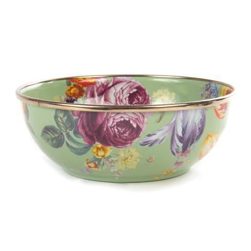 MacKenzie-Childs  Flower Market  Everyday Bowl - Green $42.00