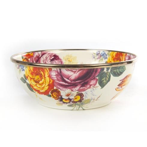 MacKenzie-Childs  Flower Market  Everyday Bowl - White $42.00