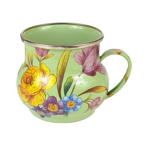 MacKenzie-Childs Flower Market Tabletop Mug - Green $48.00