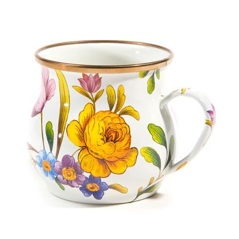 MacKenzie-Childs  Flower Market  Mug - White $42.00