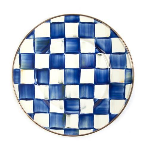 Royal Check Salad/Dessert Plate image