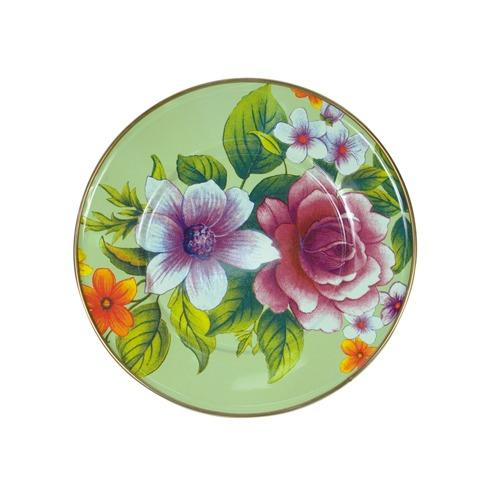 MacKenzie-Childs Flower Market Tabletop Salad/Dessert Plate - Green $52.00