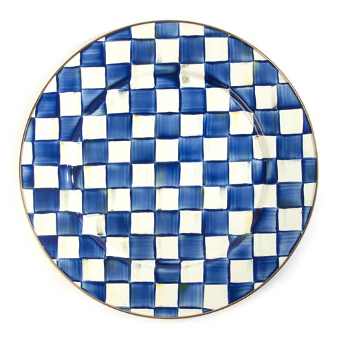 MacKenzie-Childs Royal Check Tabletop Royal Check Serving Platter $72.00