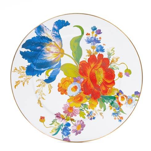 MacKenzie-Childs  Flower Market  Serving Platter - White $65.00