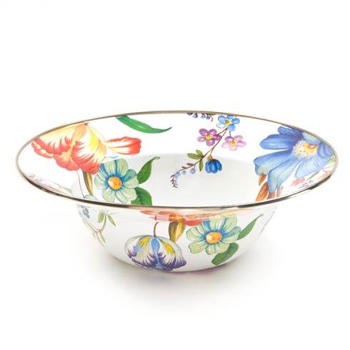 MacKenzie-Childs  Flower Market  Serving Bowl - White $62.00
