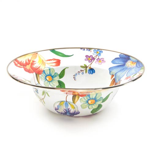 MacKenzie-Childs  Flower Market  Serving Bowl - White $68.00