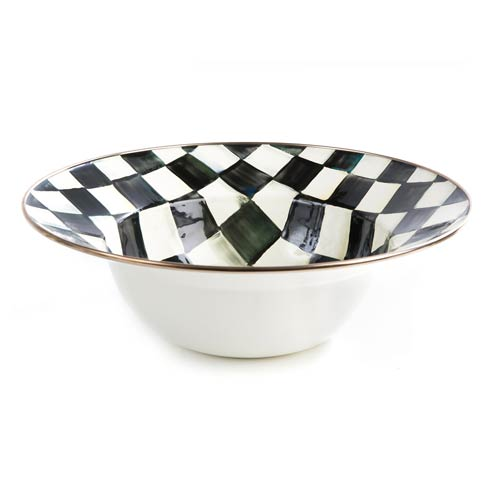 MacKenzie-Childs  Courtly Check Enamel Serving Bowl $62.00