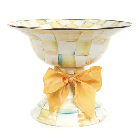 $155.00 Enamel Compote - Large