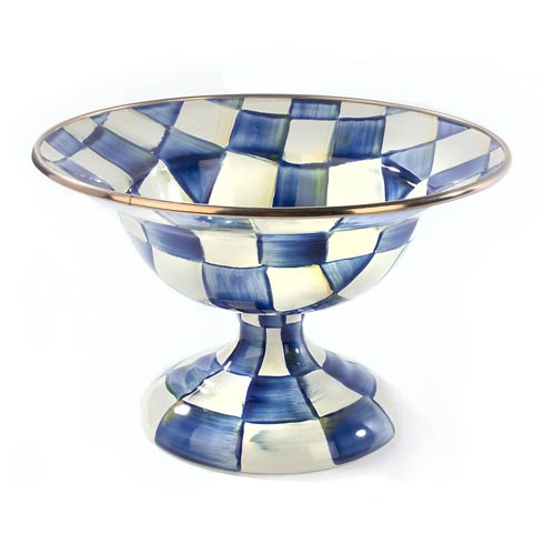 MacKenzie-Childs Royal Check Dining Compote - Small $88.00