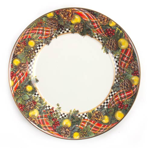 Evergreen Enamel Dinner Plate image