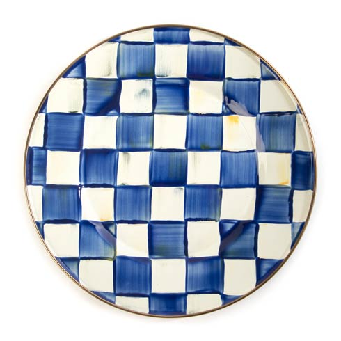 MacKenzie-Childs Royal Check Tabletop Dinner Plate $62.00