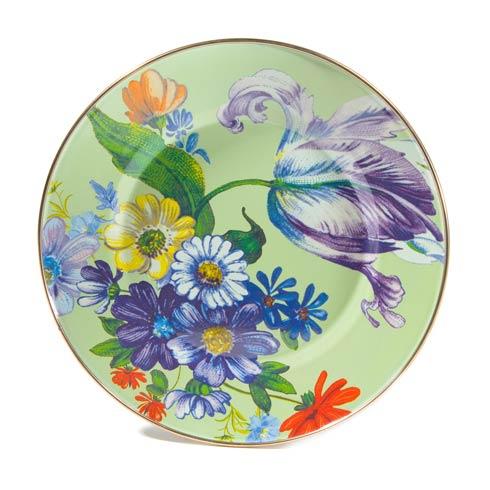 MacKenzie-Childs  Flower Market  Dinner Plate - Green $42.00