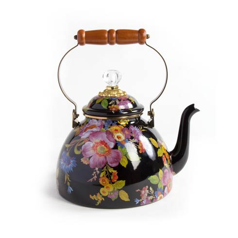 $158.00 3 Quart Tea Kettle - Black
