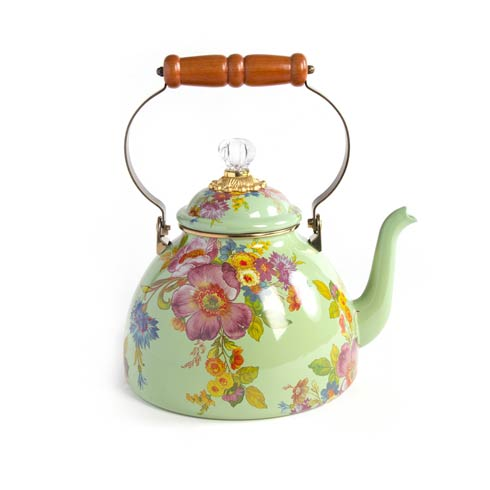 $158.00 3 Quart Tea Kettle - Green