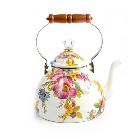 $158.00 3 Quart Tea Kettle - White