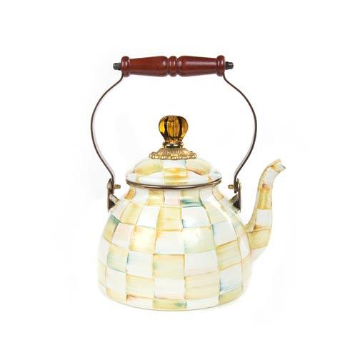 Enamel Tea Kettle - 2 Quart