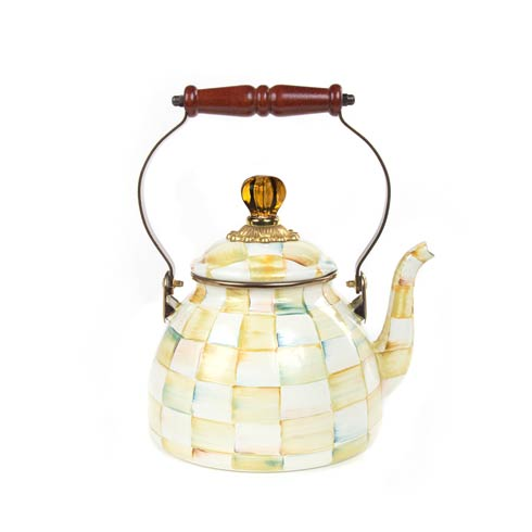Enamel Tea Kettle - 2 Quart